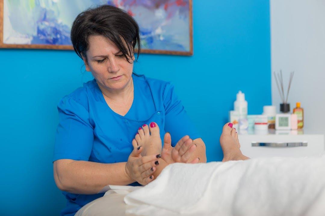 Reflexoterapia plantară și spinală
